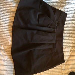 Black mini skirt with pockets!